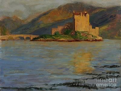 Reflections Of Eilean Donan Art Print by Don Ellis