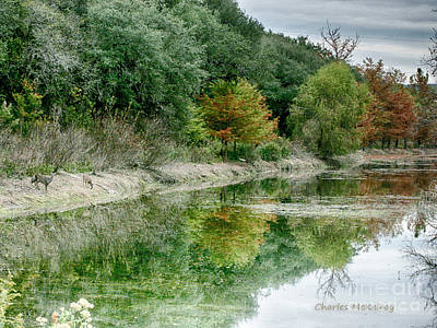 Photograph - Reflections Of Fall by Charles McKelroy
