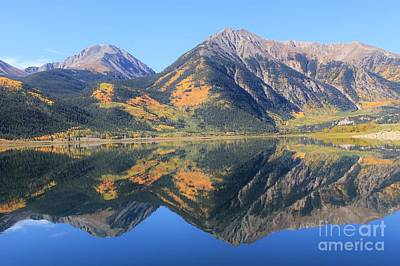 Firefighter Patents Royalty Free Images - Reflections of Fall on Twin Lakes 2 Royalty-Free Image by Tonya Hance