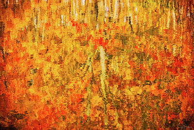 Reflections Of Fall Art Print