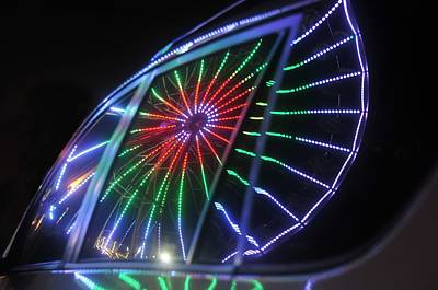 Florida State Fair Photograph - Reflections Of Ferris by David Lee Thompson
