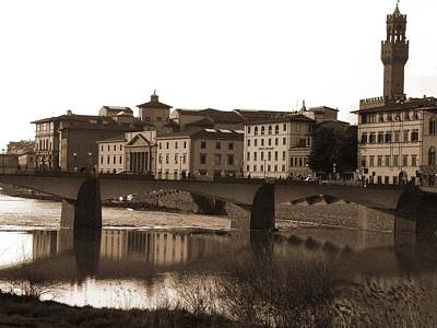 Photograph - Reflections Of Florence by Donna Corless