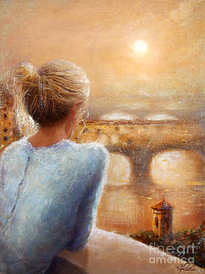 Painting - Reflections Of Florence by Michael Rock