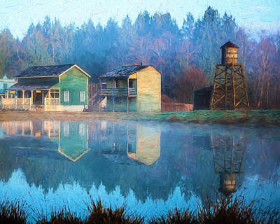 Hearty Painting - Reflections Of Hope - Hope Valley Art by Jordan Blackstone
