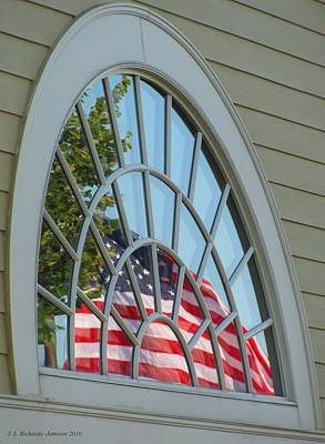 Photograph - Reflections Of Independence by Jennie Richards