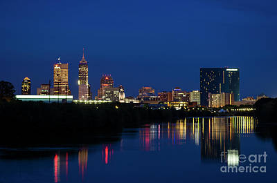 Photograph - Reflections Of Indy - D009911 by Daniel Dempster