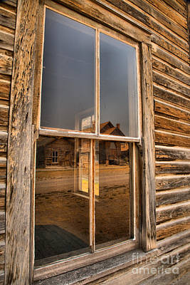 Photograph - Reflections Of Montana Mining by Adam Jewell