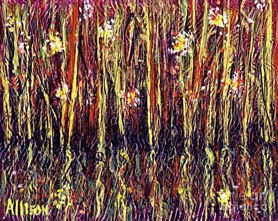 Reflections Of Mt. Dora Florida  Art Print