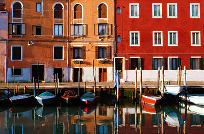 Photograph - Reflections Of Murano by John Warren