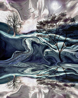 Digital Art - Reflections Of Nirvana by Laurel D Rund