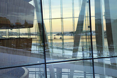 Photograph - Reflections Of Oslo by David Chandler