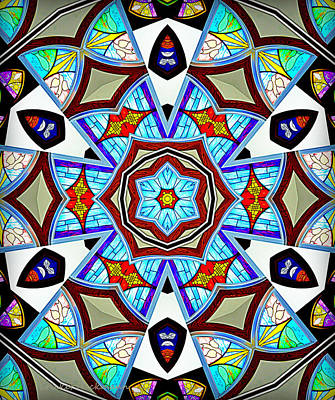 Mosaic Mirrors Photograph - Reflections Of Peace by Cricket Hackmann