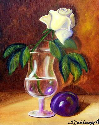 Painting - Reflections Of Purple by Susan Dehlinger