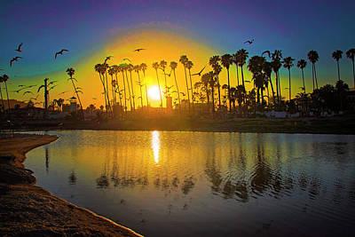 Photograph - Reflections Of Santa Barbara by Lynn Bauer