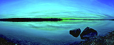Downeast Maine Photograph - Reflections Of Serenity by ABeautifulSky Photography by Bill Caldwell