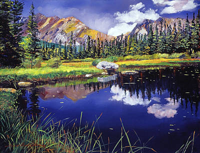 Reflections Of Solitude Original by David Lloyd Glover
