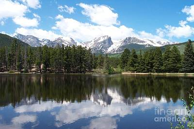 Photograph - Reflections Of Sprague Lake by Dorrene BrownButterfield