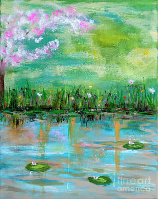 Photograph - Reflections Of Spring by Haleh Mahbod