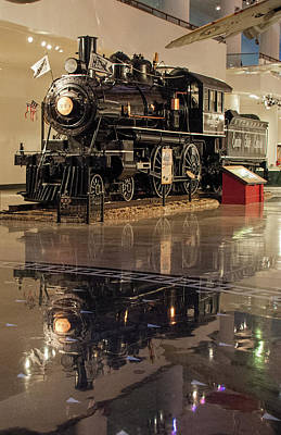 Photograph - Reflections Of Steam by John Black