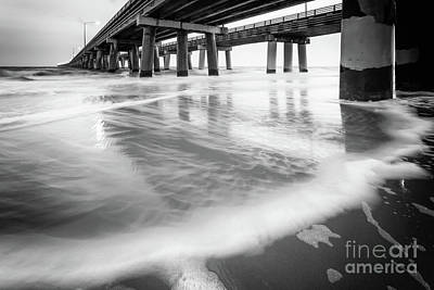 Reflections Of The Chesapeake Bay Bridge Tunnel Art Print by Lisa McStamp