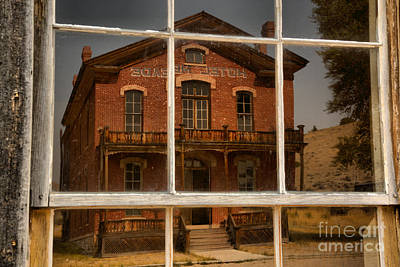 Photograph - Reflections Of The Hostel Meade by Adam Jewell
