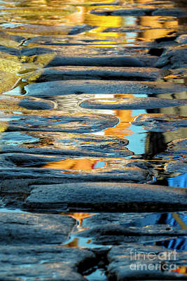 Photograph - Reflections Of The King Tide by Kimberly Nyce