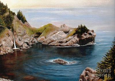 Painting - Reflections Of The Past by Hazel Holland