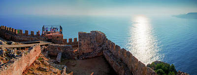 Photograph - Reflections Of The Sun In Alanya by Sun Travels