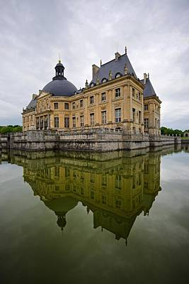 Photograph - Reflections Of The Vaux Le Vicomte by Stephen Taylor