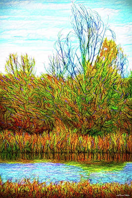Digital Art - Reflections Of Tranquility by Joel Bruce Wallach