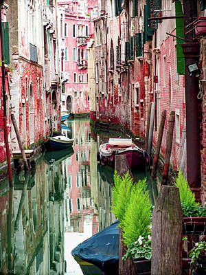 Photograph - Reflections Of Venice by Debbie Karnes