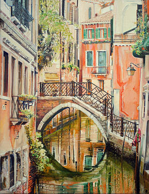 Painting - Reflections Of Venice by P Anthony Visco