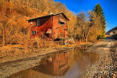 Thurmond Wall Art - Photograph - Reflections Of West Virginia by Adam Jewell