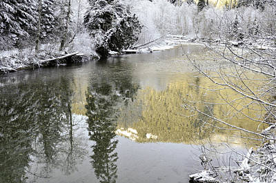 Photograph - Reflections Of Winter by Clayton Bruster