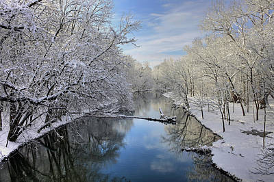Photograph - Reflections Of Winter by Dan Myers