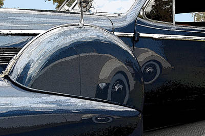 Photograph - Reflections On A Caddy by James Rentz