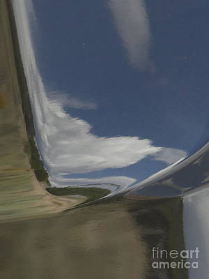 Photograph - Reflections On A Powder Coated Sky by Brian Boyle