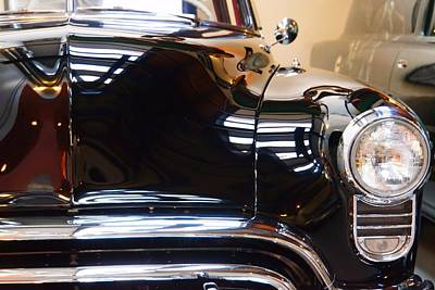 Photograph - Reflections On An Oldsmobile by Patricia Strand