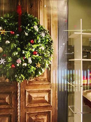 Reflections On Christmas Art Print by Rosita Larsson
