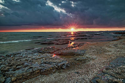 Niagara Beach Photograph - Reflections On Erie by Phill Doherty