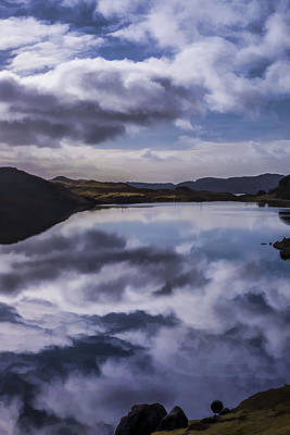 Photograph - Reflections On Harris by Neil Alexander