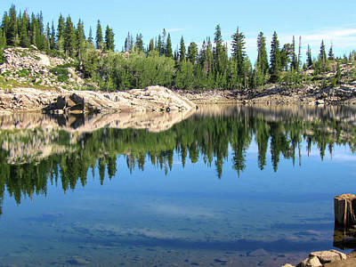 Photograph - Reflections On Lake Mary by David King