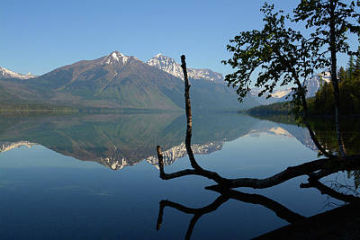 Science Collection - Reflections on Lake McDonald by Whispering Peaks Photography