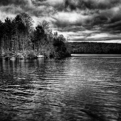 Photograph - Reflections On Limekiln Lake by David Patterson