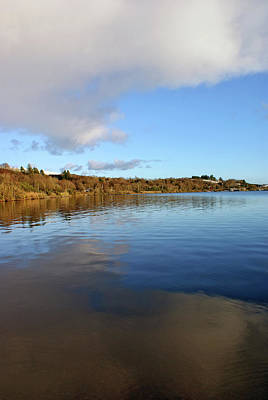 Photograph - Reflections On Lough Fea. by Colin Clarke