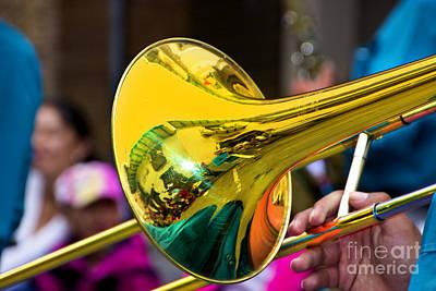 Reflections On Music II Print by Al Bourassa