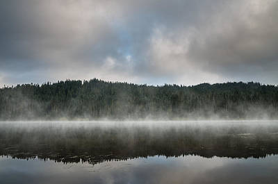 Photograph - Reflections On Reflection Lake 1 by Greg Nyquist