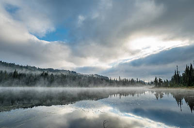 Photograph - Reflections On Reflection Lake 5 by Greg Nyquist