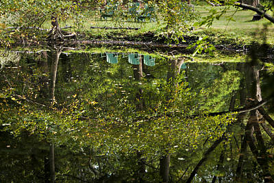 Photograph - Reflections On Sitting by Robert Harshman