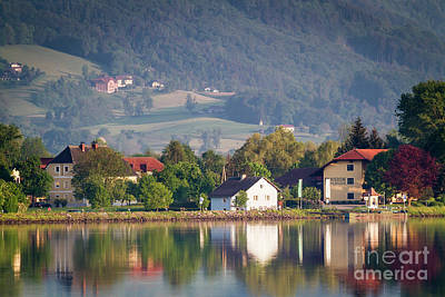 Photograph - Reflections On The Danube by Dennis Hedberg